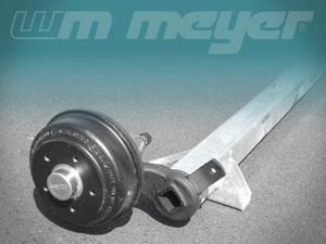 1300kg Achsen wm meyer