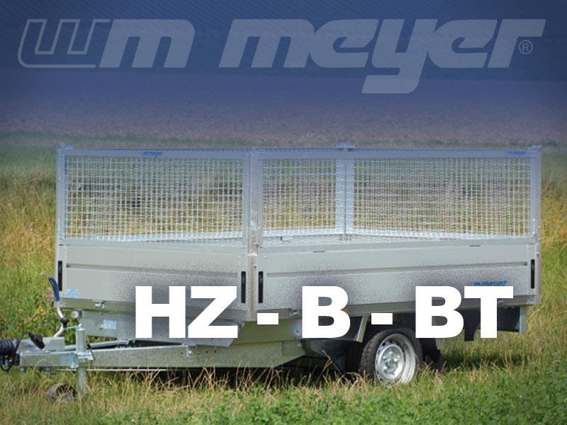 Stahlgitteraufsätze HZ - B - BT