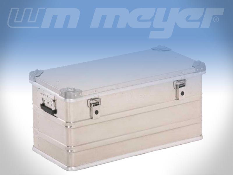 Stauboxen Aluminium