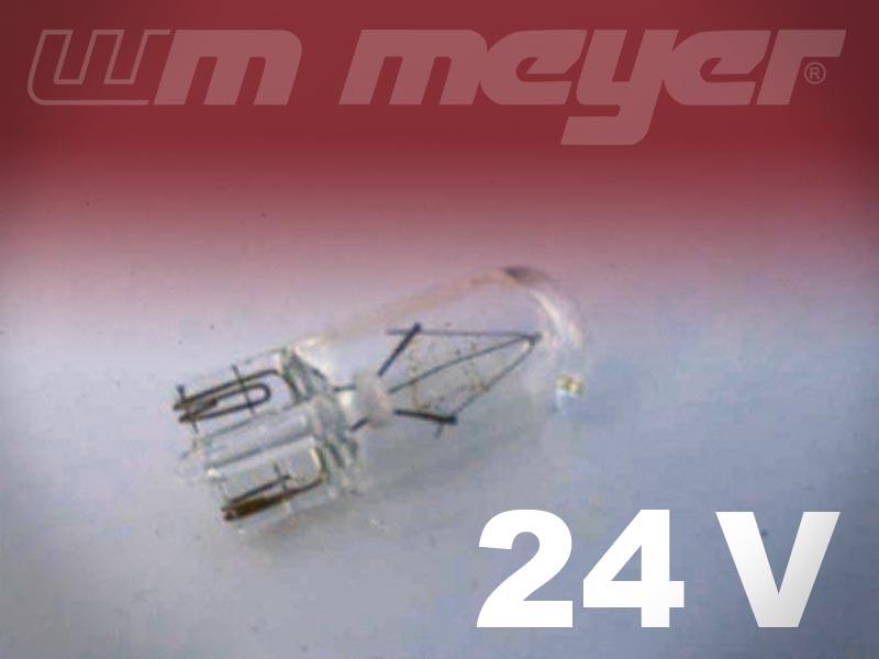 Glassockelbirnen 24V