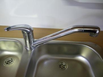 Wasserhahn Niederdruck - verchromt