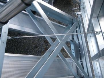 Seil für Kippsicherung 830mm wm meyer