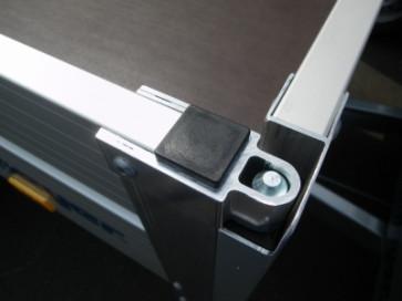 Abdeckkappe 50x50x1,5 Schwarz