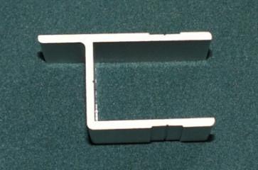 Einfassprofil 25mm (Anschlag 25mm) eloxiert wm meyer
