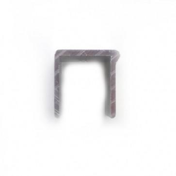 Einfassprofil Rahmen Pferd 18mm eloxiert wm meyer