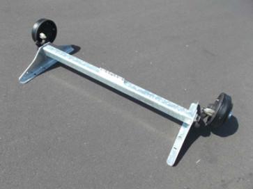 gebremste Achse bis 1800 kg Flansch 1565mm Auflage 1200mm