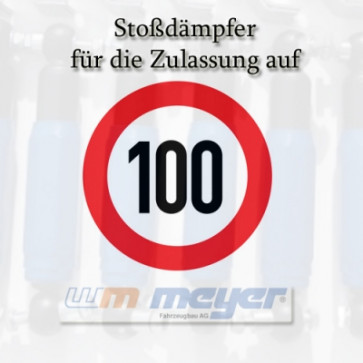 100 km/h Ausrüstung 2 Achsen