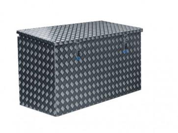 Pritschenkasten aus Alu Riffelblech 1500x580x650mm