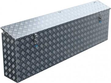 Staubox Alu Riffelblech BxTxH: 800x220x400mm