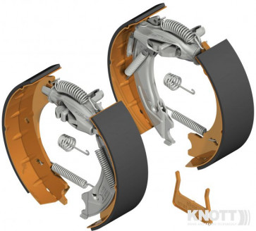 Bremsbacken-Satz 200 x 50 mm Knott 20-2425/1 ANS