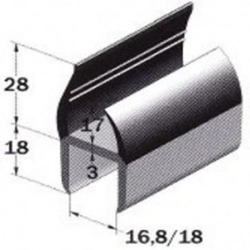 PVC- Profil 18,5mm