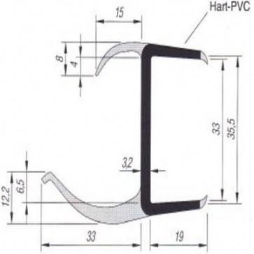 PVC- Profil 35mm