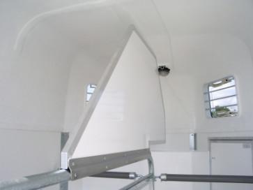 Kopftrennwand für PVC Trennwand