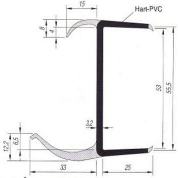PVC- Profil 55mm