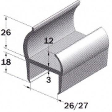 PVC- Profil 27mm