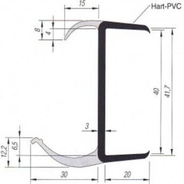 PVC- Profil 41mm