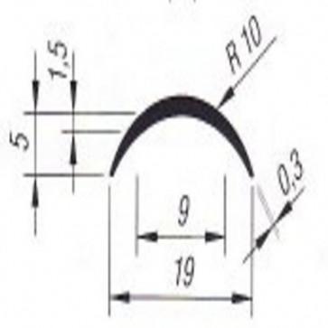 PVC- Gehrungsprofil 20mm