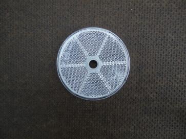 Seitenstrahler weiß rund