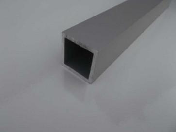 Vierkantrohr 25x25x2 eloxiert