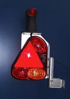 AK-Leuchtenträger Links kpl.