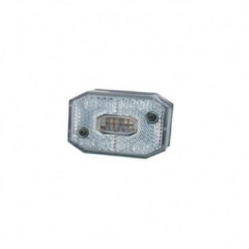 Begrenzungsleuchte weiß mit Kabel 0,5m DC