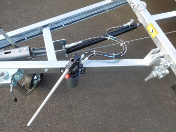 Hub- u. Zugzylinder für Autotransporter