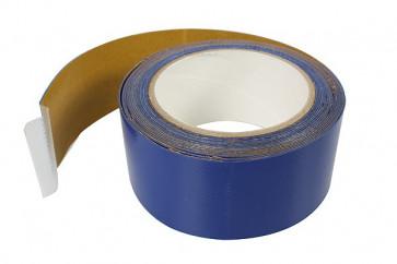 Reparaturplanenstoff einseitig selbstklebend silber