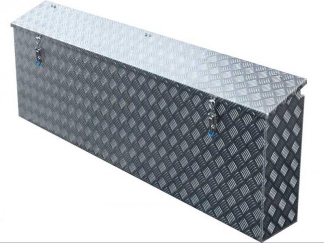 staubox alu riffelblech bxtxh 1400x220x500mm 6910353 ersatzteil f. Black Bedroom Furniture Sets. Home Design Ideas