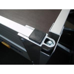 Abdeckkappe 40x40x1,5 Schwarz
