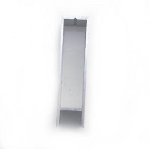 Bordwand Oberteil 100mmx25mm eloxiert Steckprofil wm meyer