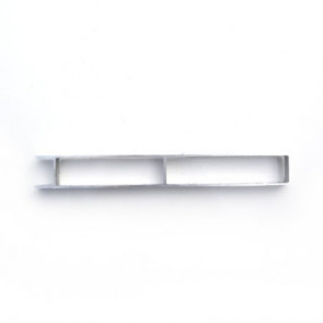 Bordwand Oberteil 200mmx25mm eloxiert Steckprofil wm meyer
