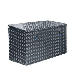 Pritschenkasten aus Alu Riffelblech 1200x580x650mm