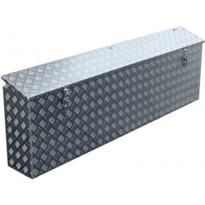 Staubox Alu Riffelblech BxTxH: 1400x220x500mm