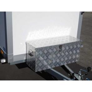 Staubox Alu Riffelblech BxTxH: 900x350x400mm 120 Liter