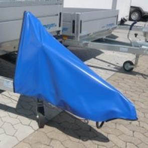 Wetterschutzhaube für Auflaufeinrichtung mit Stützradhalter