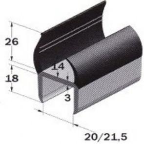 PVC- Profil 21mm
