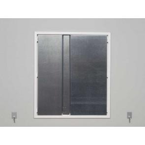 Kunststoff-Schiebefenster weiß 776 x 876 mm