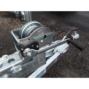 Seilwinde 1-Gang + Seil 10m / 850kg