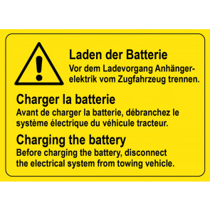 Laden der Batterie
