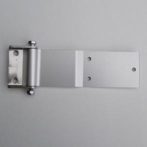 AZ-Hecktürscharnier ALU, Edelstahl Bock 240x77mm