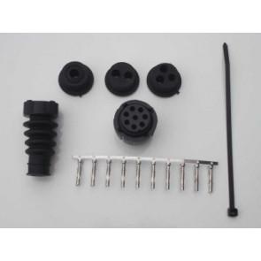 Bajonett-Verbinder-Set 8 polig