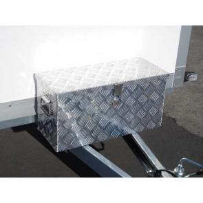 Staubox Alu Riffelblech BxTxH: 600x250x300mm 40 Liter