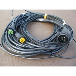 Kabelsatz 12 Meter 13 Polig mit 2 Abgängen 2x RFS 8 pol. Bajonett