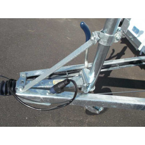 Verstärkung für Stützrad 60mm klappbar